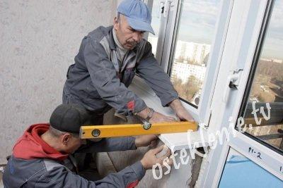 Установка балконных блоков своими руками.