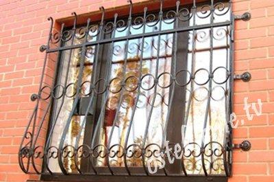 Фото решеток на окна своими руками 357