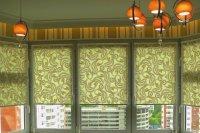 Оформление помещения с помощью готовых рулонных жалюзи